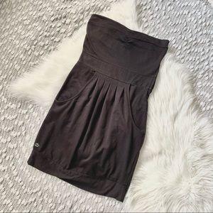 (🌸2/$25🌸) Billabong strapless black dress